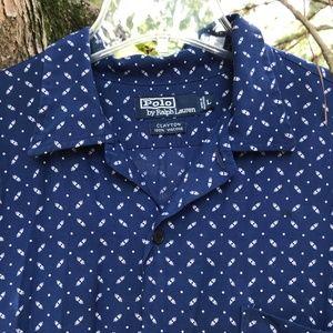Polo by Ralph Lauren Blue Buttons down Shirt